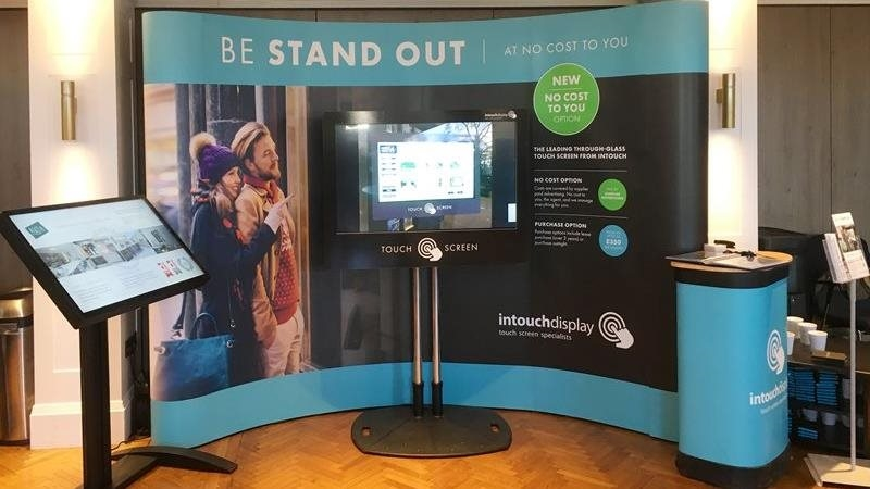 Intouch exhibit at The Guild's Annual Conference